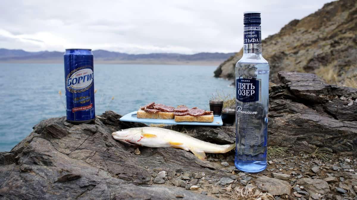 хариус, рыбалка в Монголии