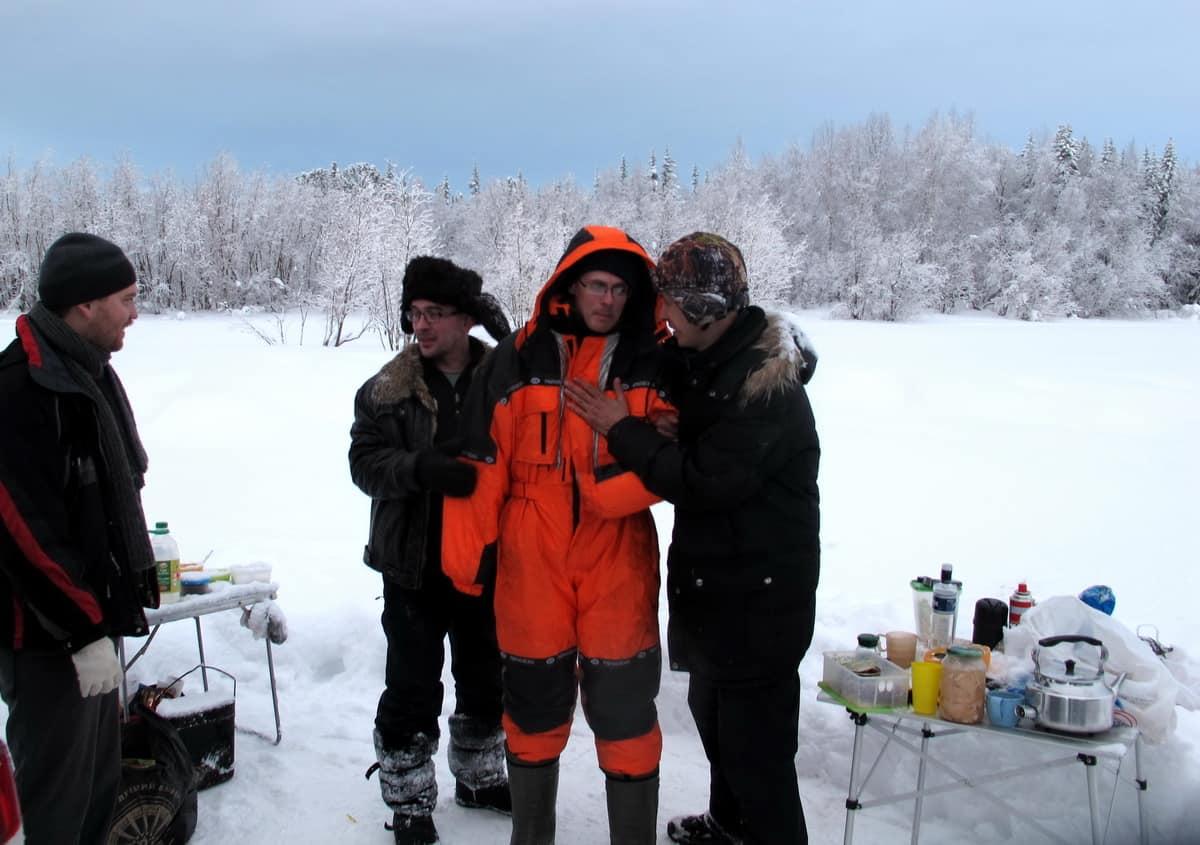 тест снаряжения для низких температур