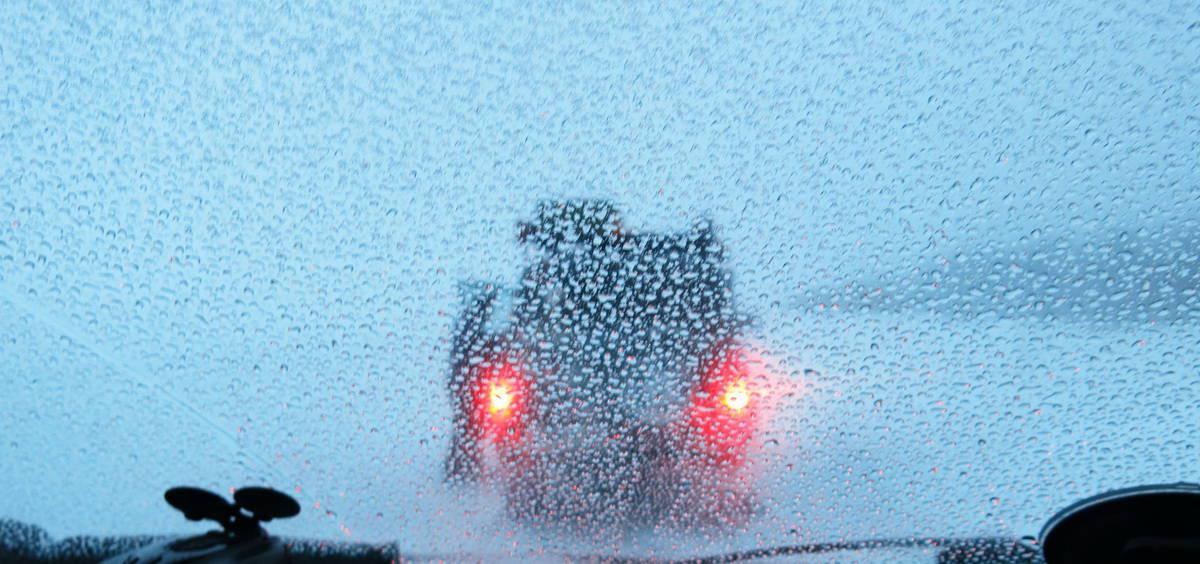 после ночевки в машине зимой