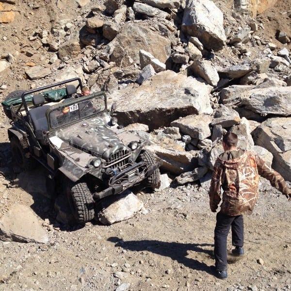 каменные препятствия