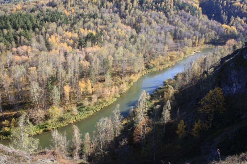 Бердские скалы - достопримечательность Новосибирской области