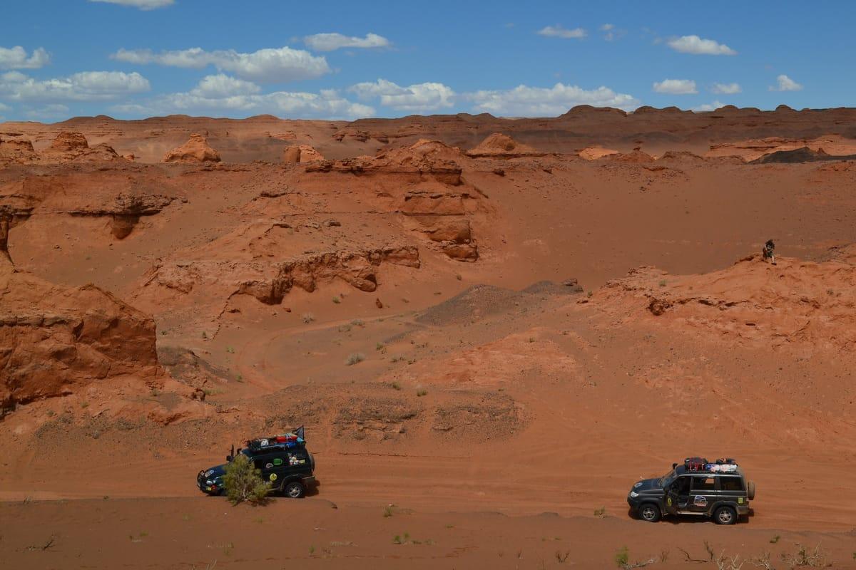 каньон Хэрмен-Цав входит в наш маршрут по Монголии