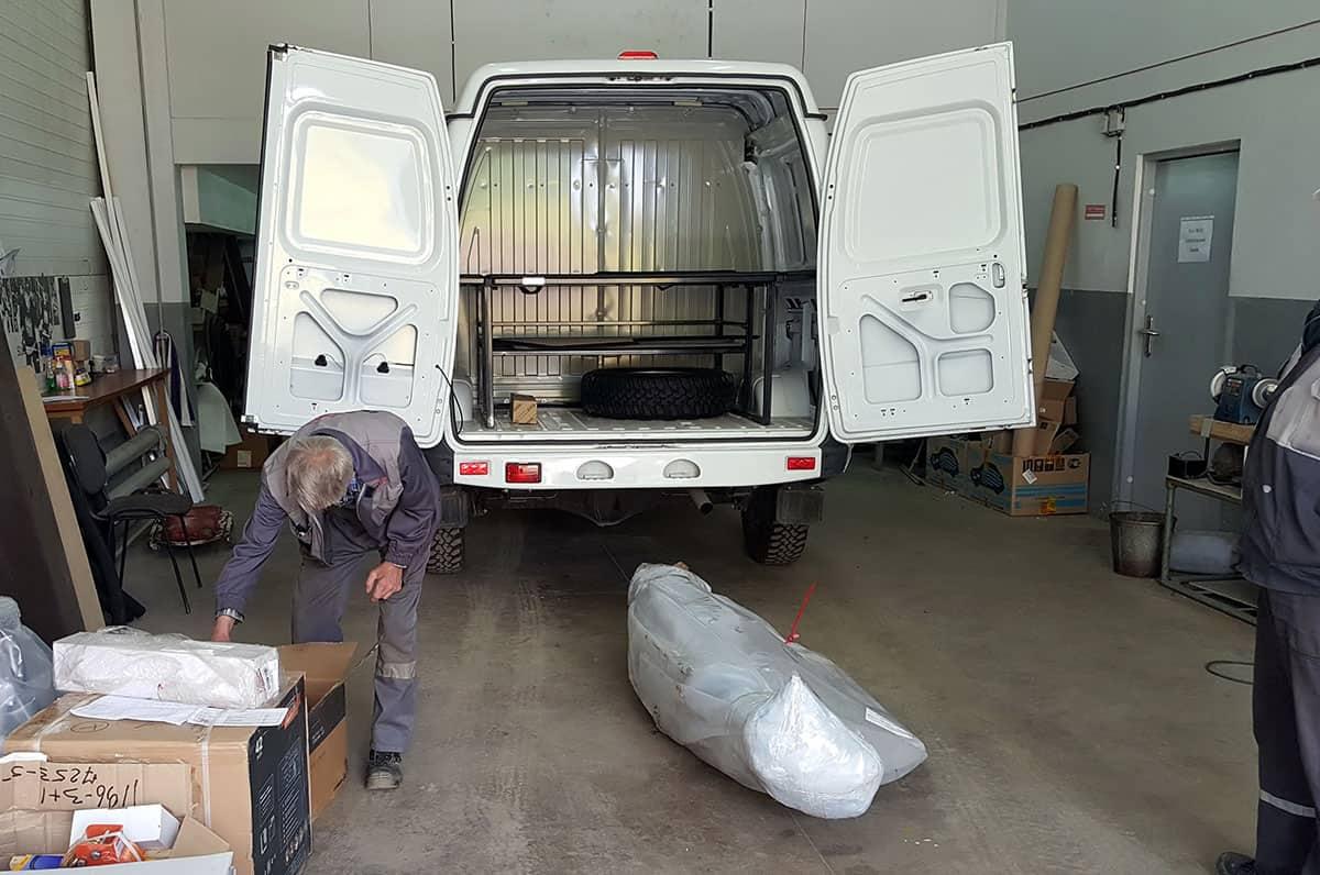 Соболь 4х4 с грузовым отсеком