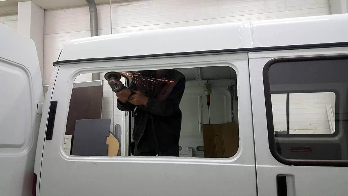 врезка окна в Соболь