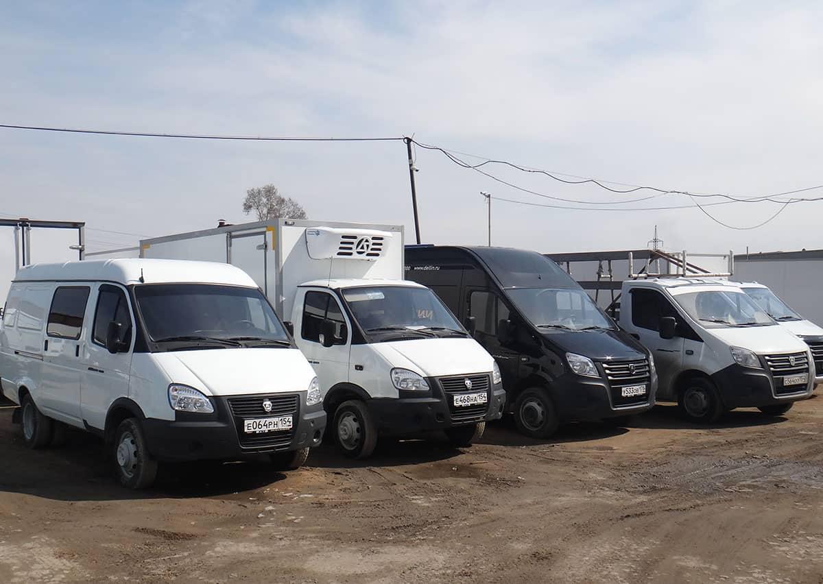 модельный ряд ГАЗ