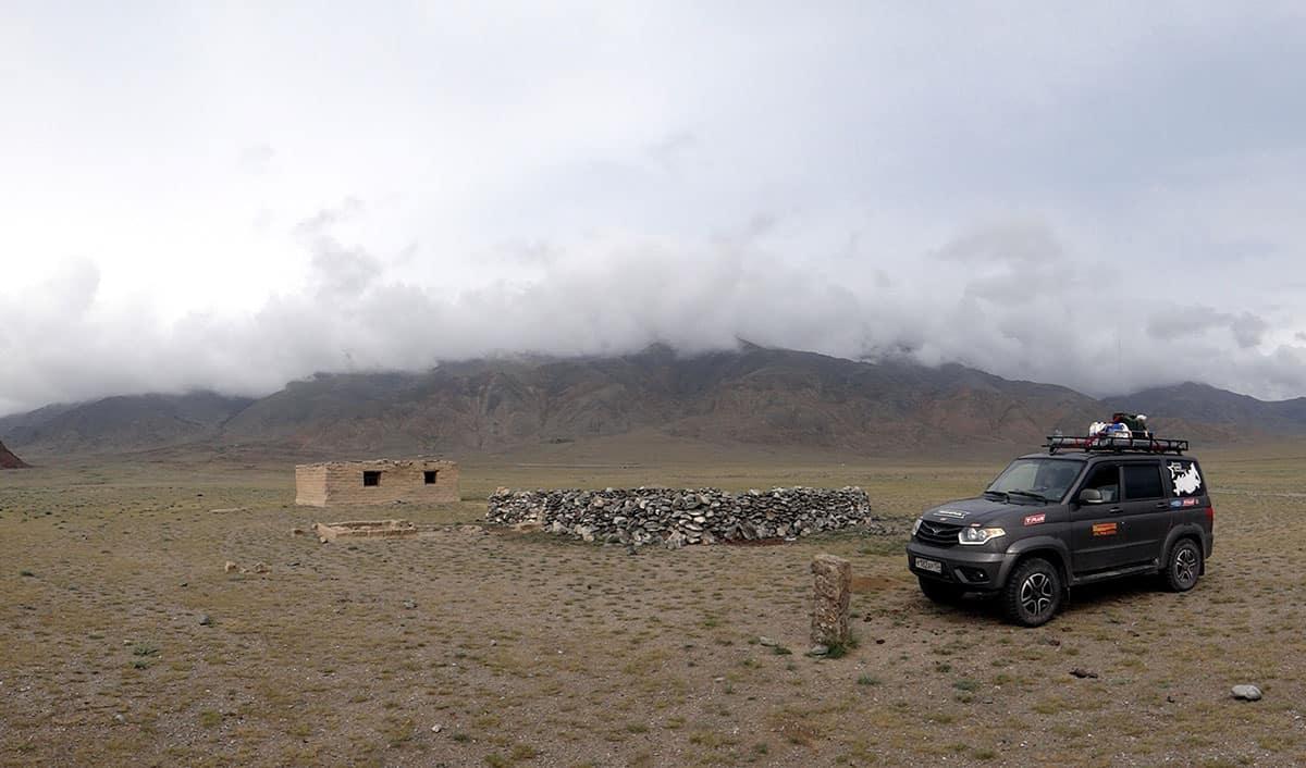 загон для скота, Монголия
