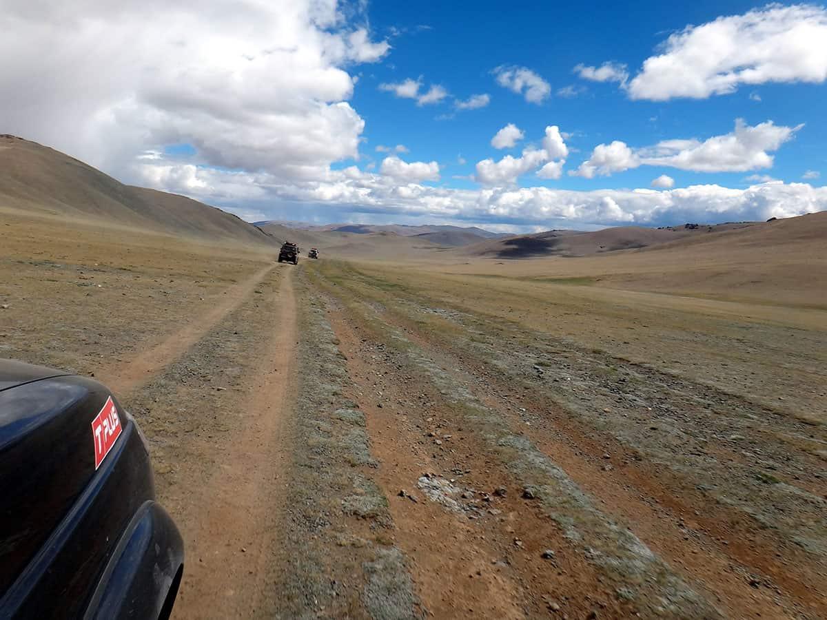 отличная монгольская дорога