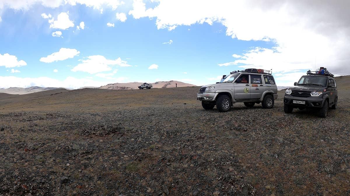 УАЗ Патриот в горах Монголии