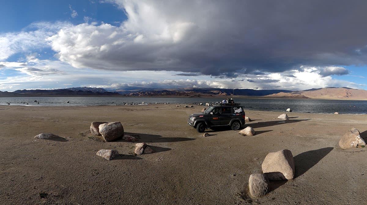 озеро Шаазгай, Монголия
