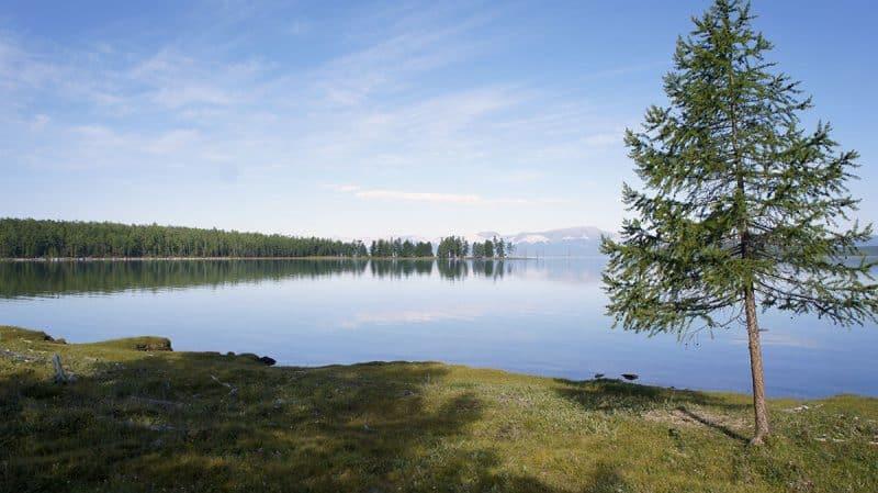 озеро Хубсугул, лето, Hovsgol lake