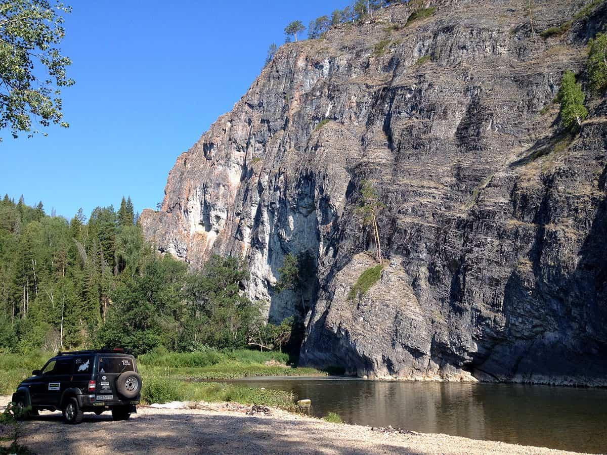 скала Мамбет, Южный Урал