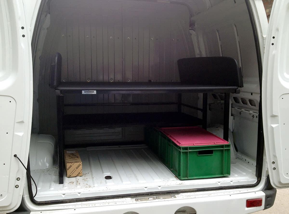 установка спальника в багажное отделение Соболя