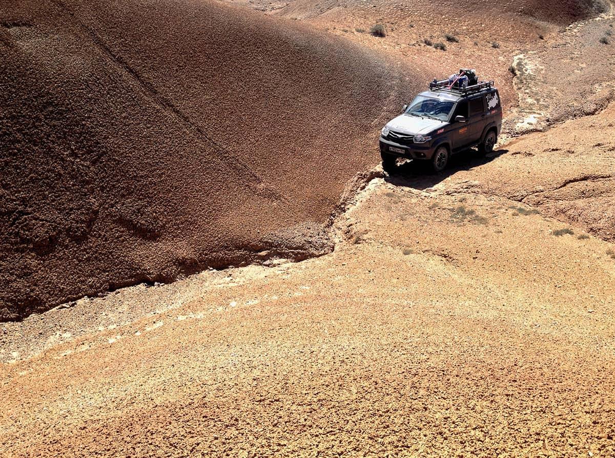 УАЗ Патриот на Марсе