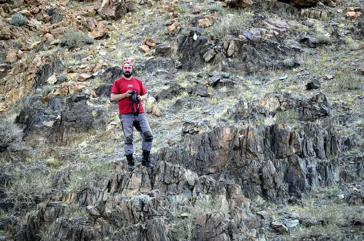 Krohinzon в скалах