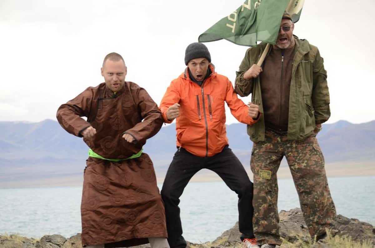 Байкал — северная Монголия — видео