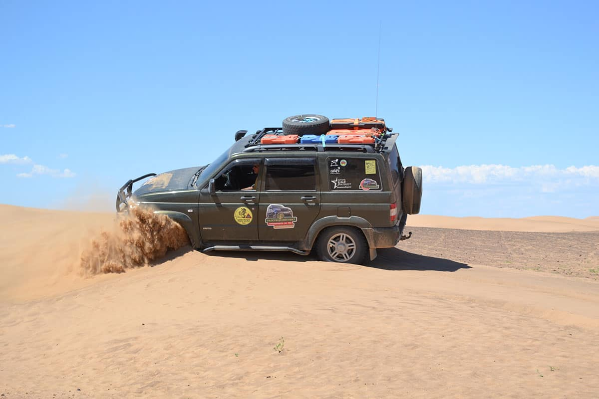пески в Монголии