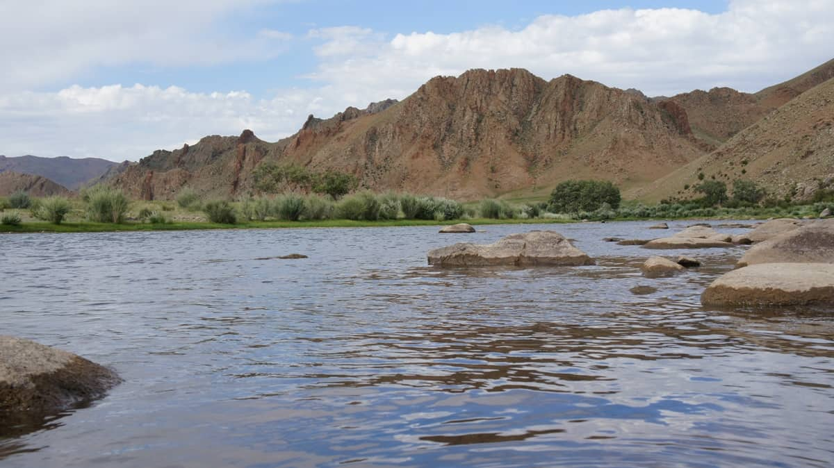 река Дэлгэр Мурэн, Монголия