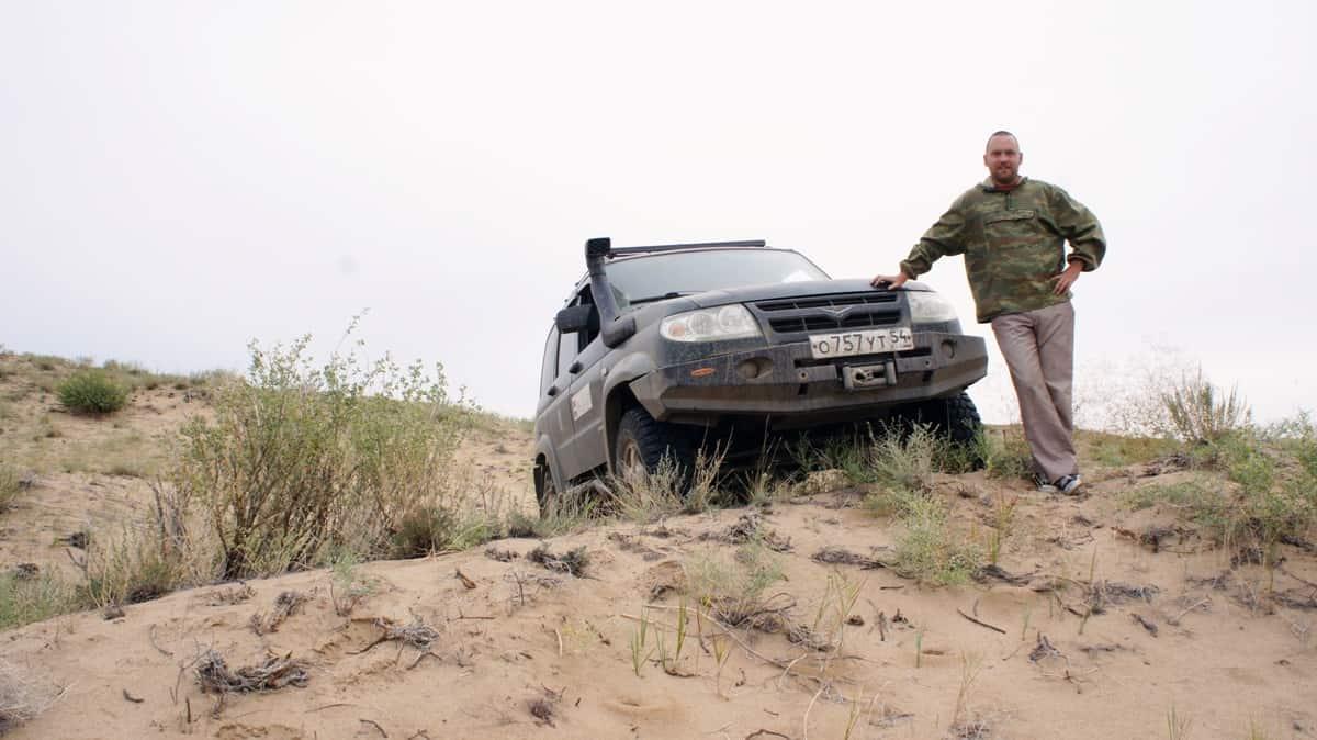 путешественник Алексей Бычков в самой северной пустыне мира