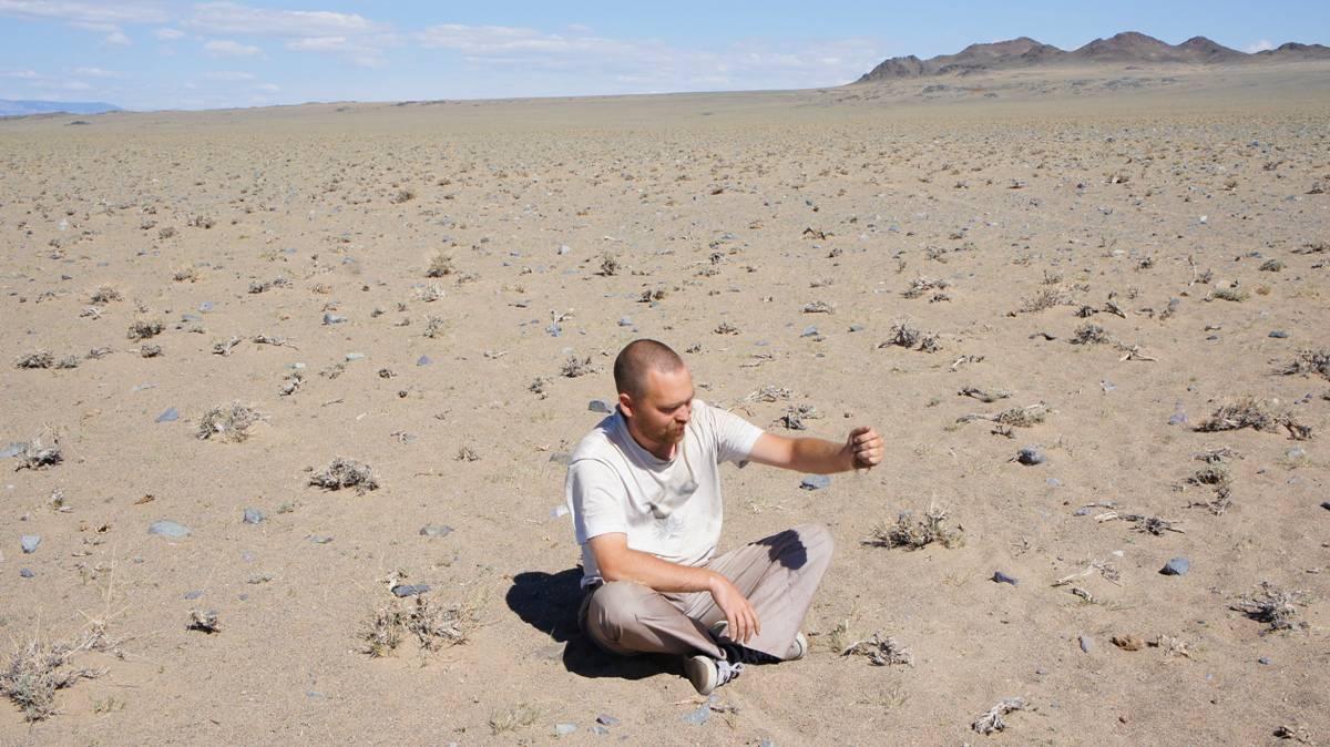 автопутешественник Алексей Бычков в Монголии