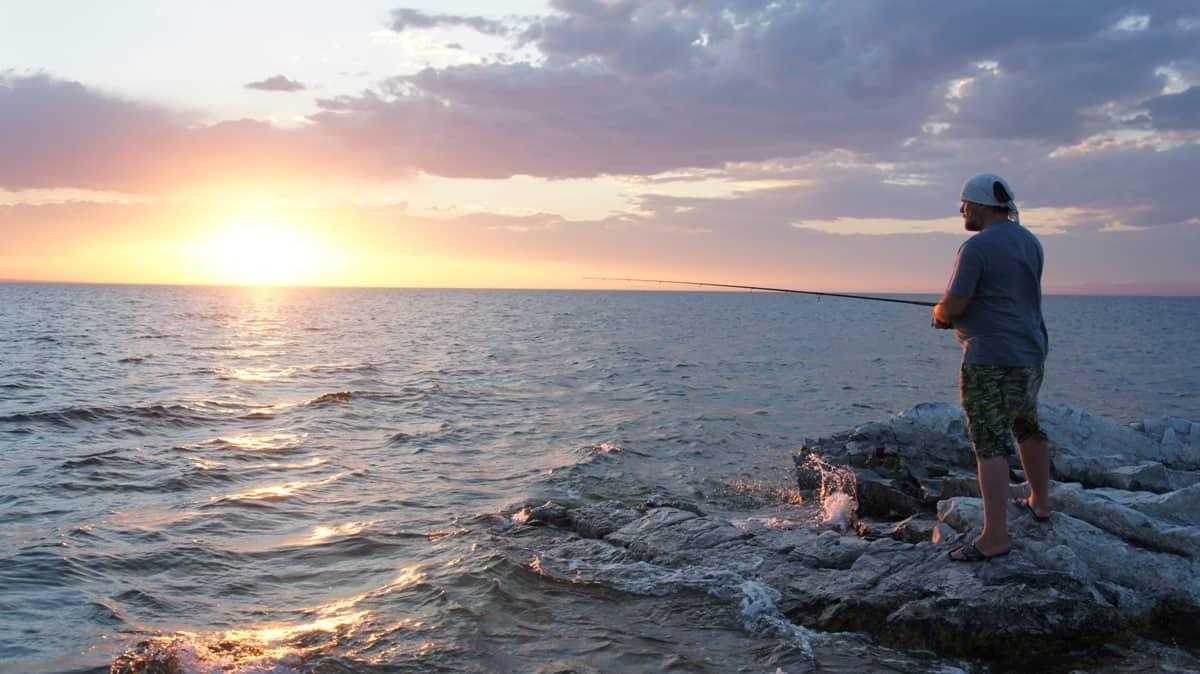 рыбалка на озере Хяргас-нуур