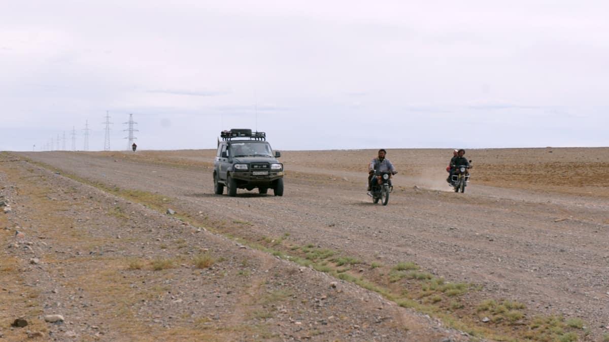 мотоциклы в монголии
