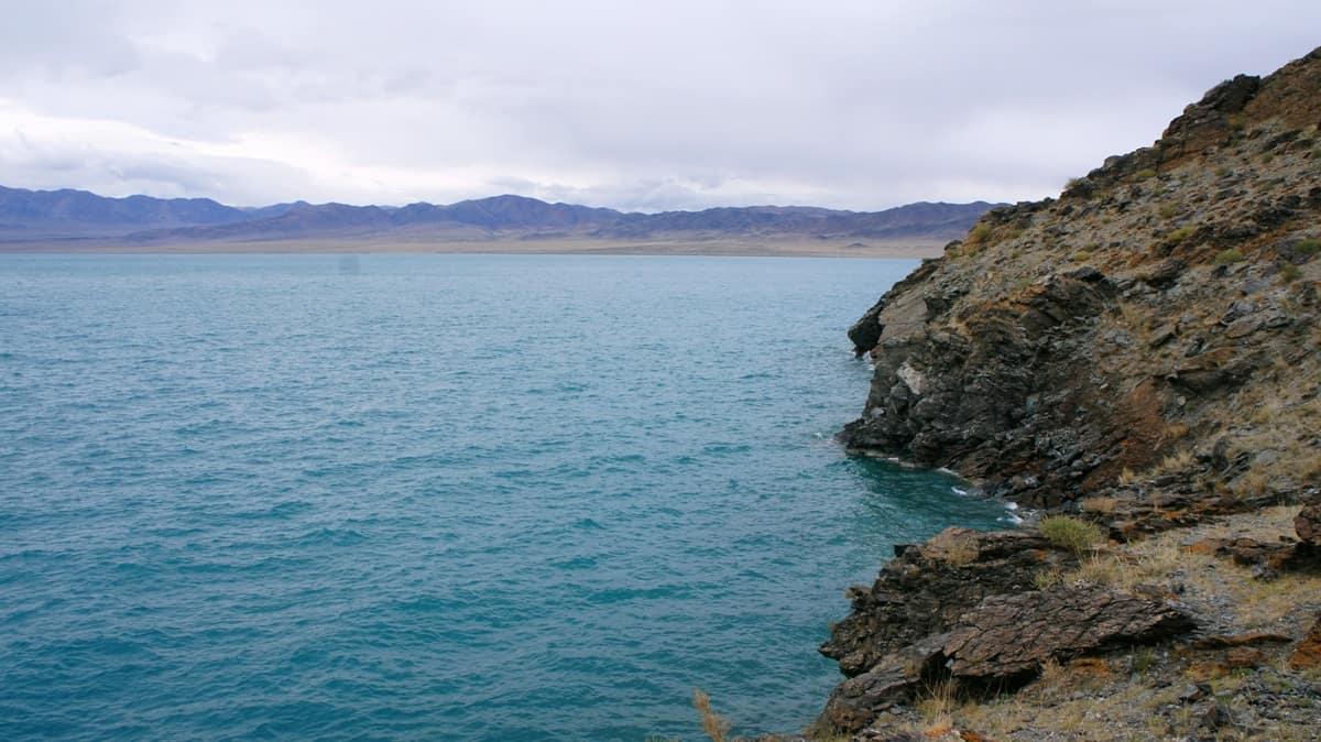 озеро Урэг, Монголия