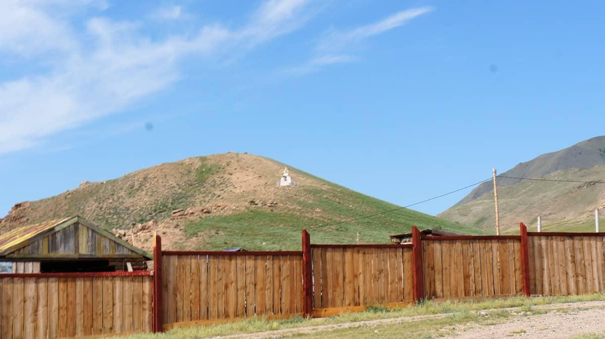 сельская монголия