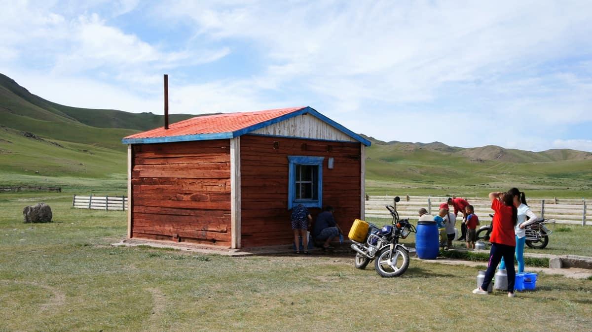 где набрать воды в монголии