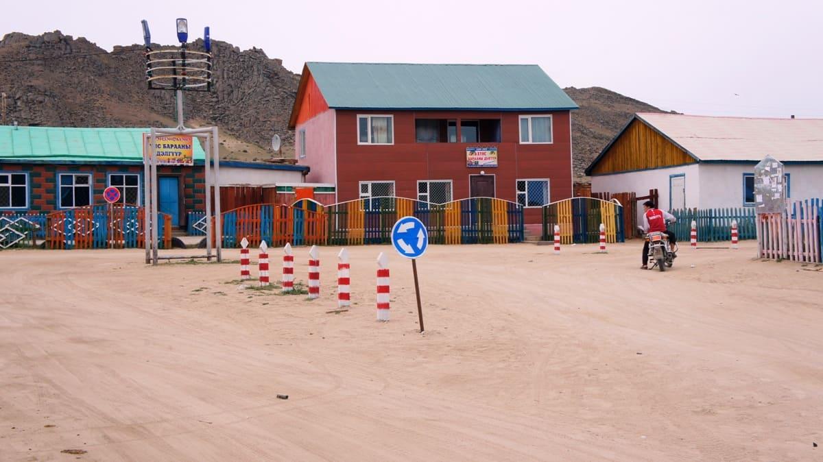 дорожное движение в монголии