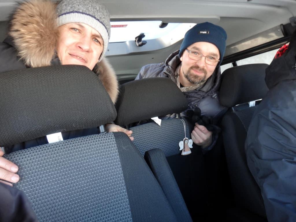 члены Клуба УАЗ Патриот тестируют комфорт дизельного Соболя