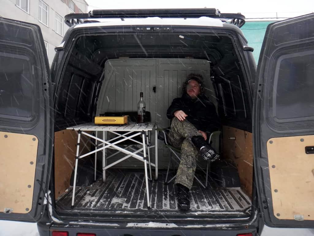 объем багажника соболя 4х4