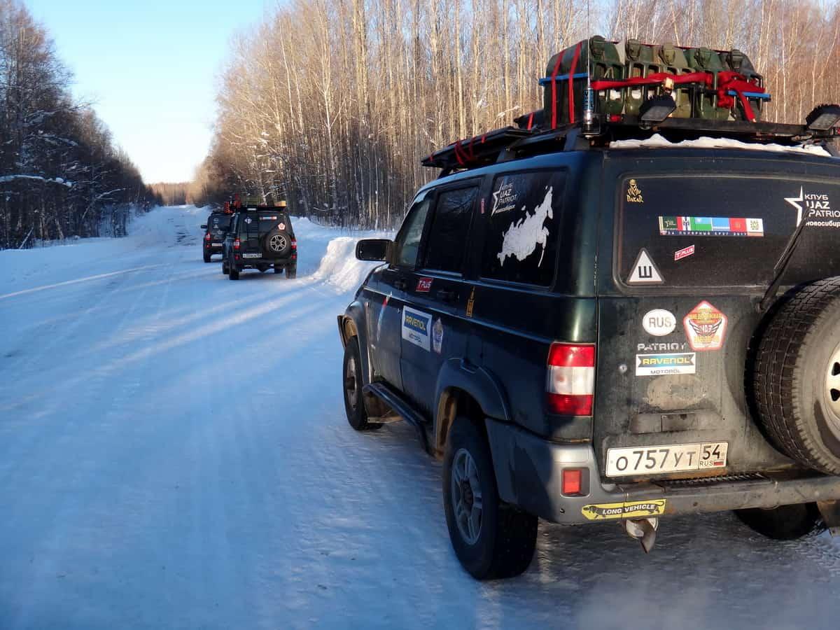 на зимнике Каргасок - Нижневартовск