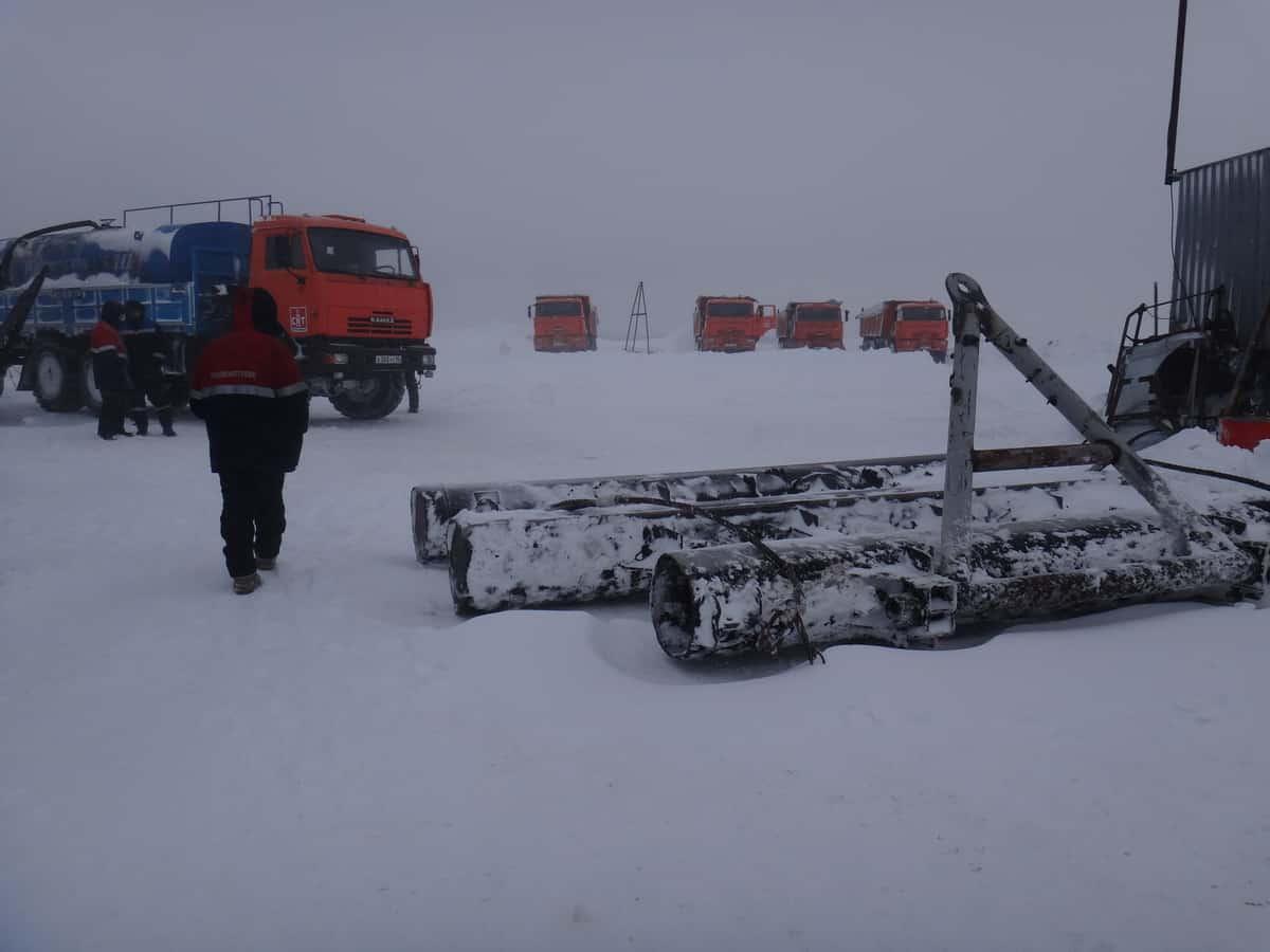 волокуша для зимников