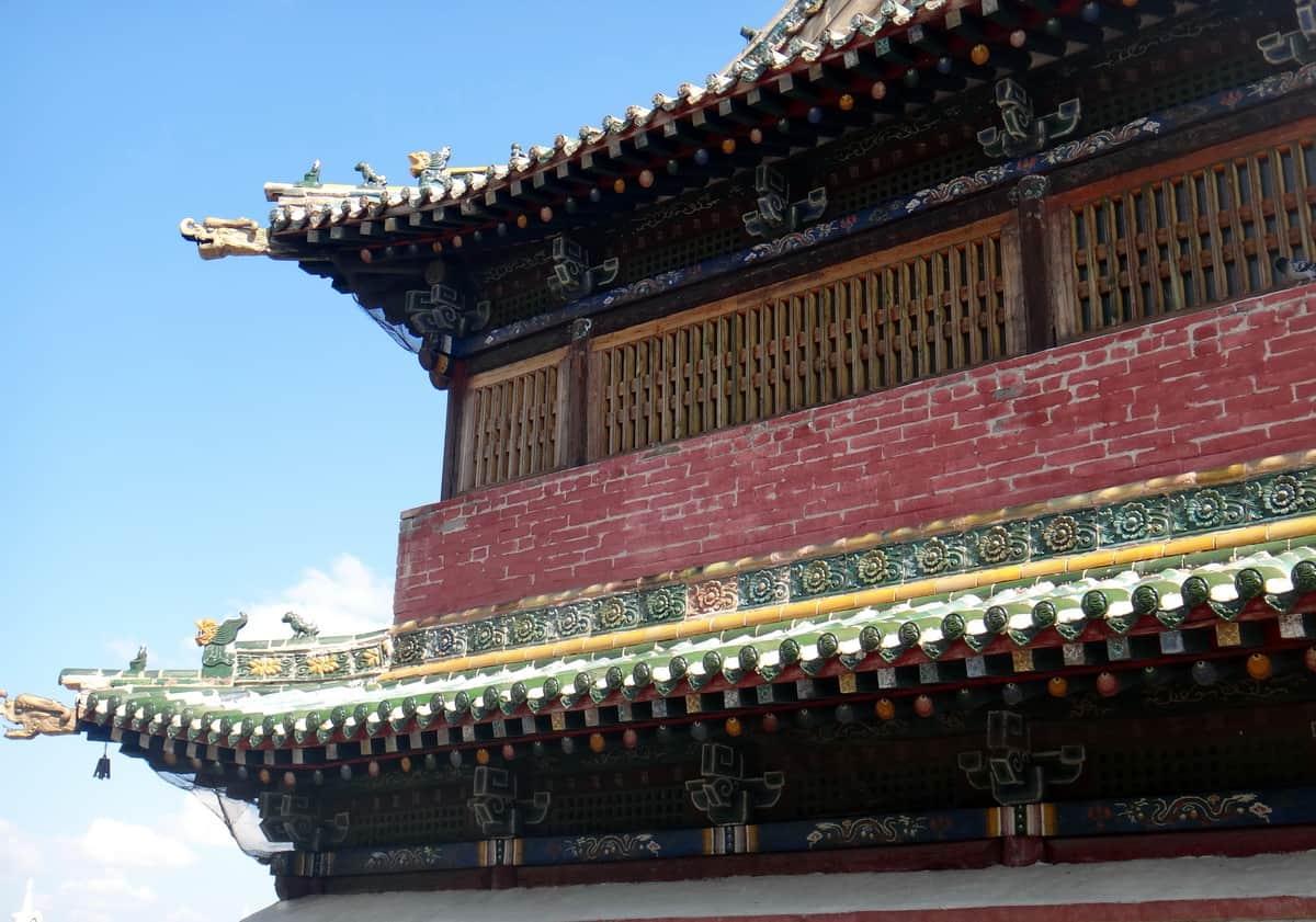 декор буддистского храма