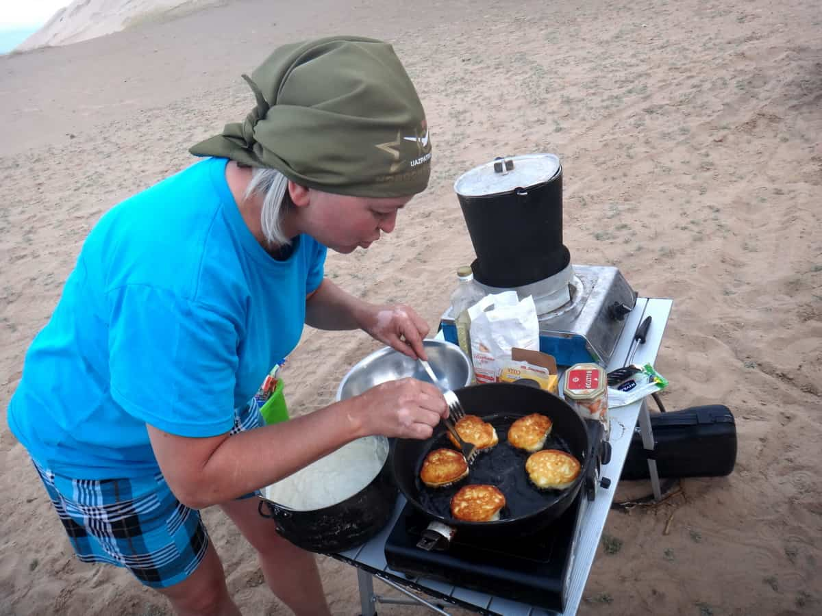 приготовление еды в полевых условиях