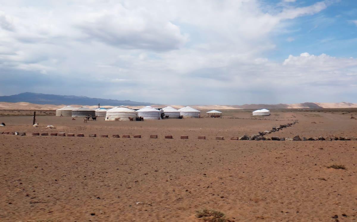туристическая база в Монголии