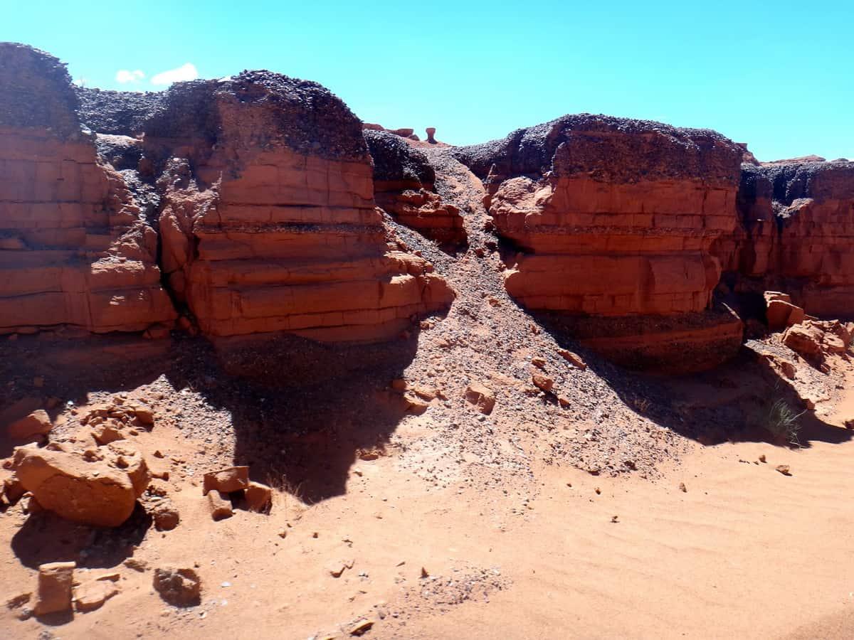 стенки каньона Хэрмэн-Цав