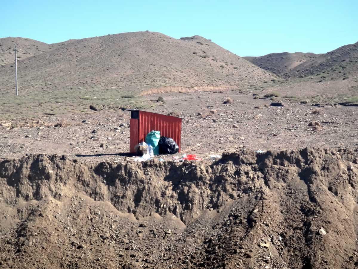 последствия селя и оползня в Монголии