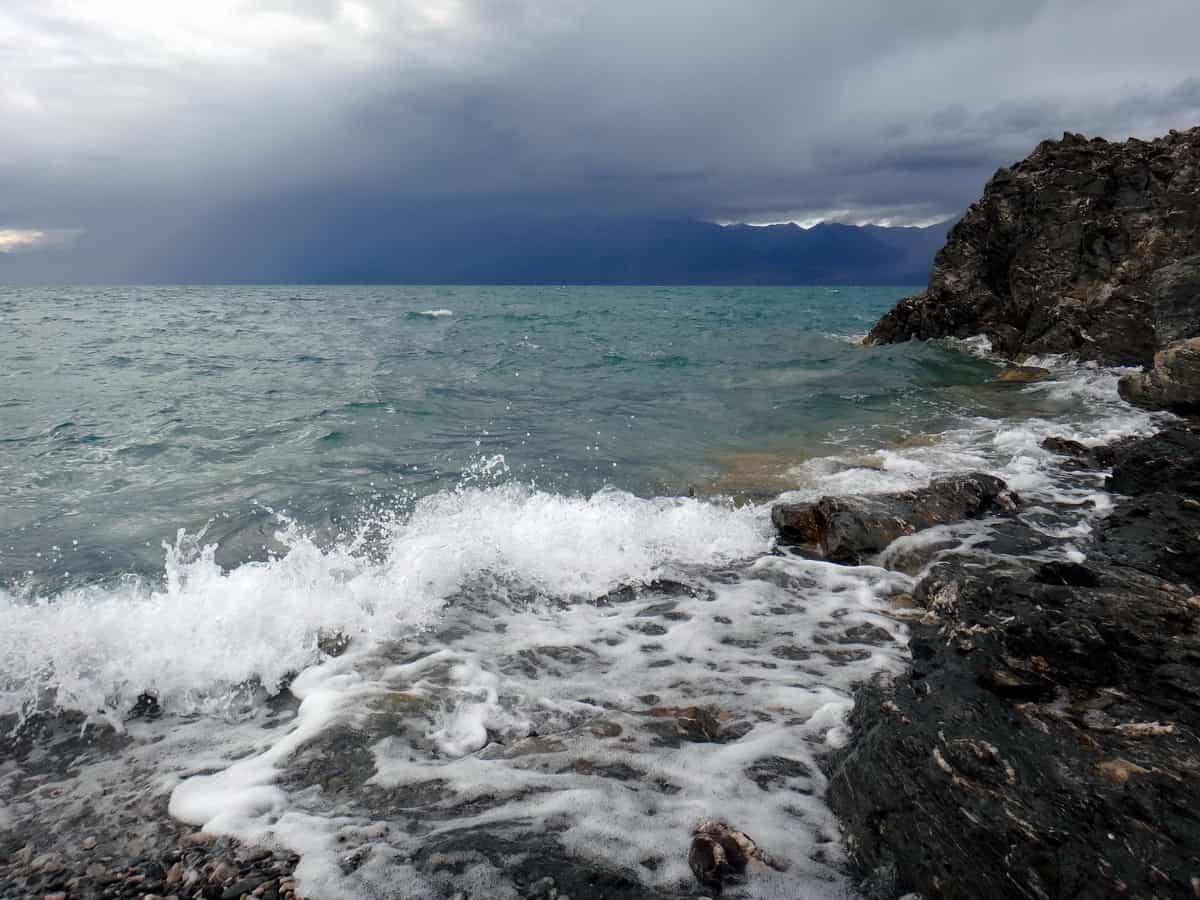 шторм на озере Урэг
