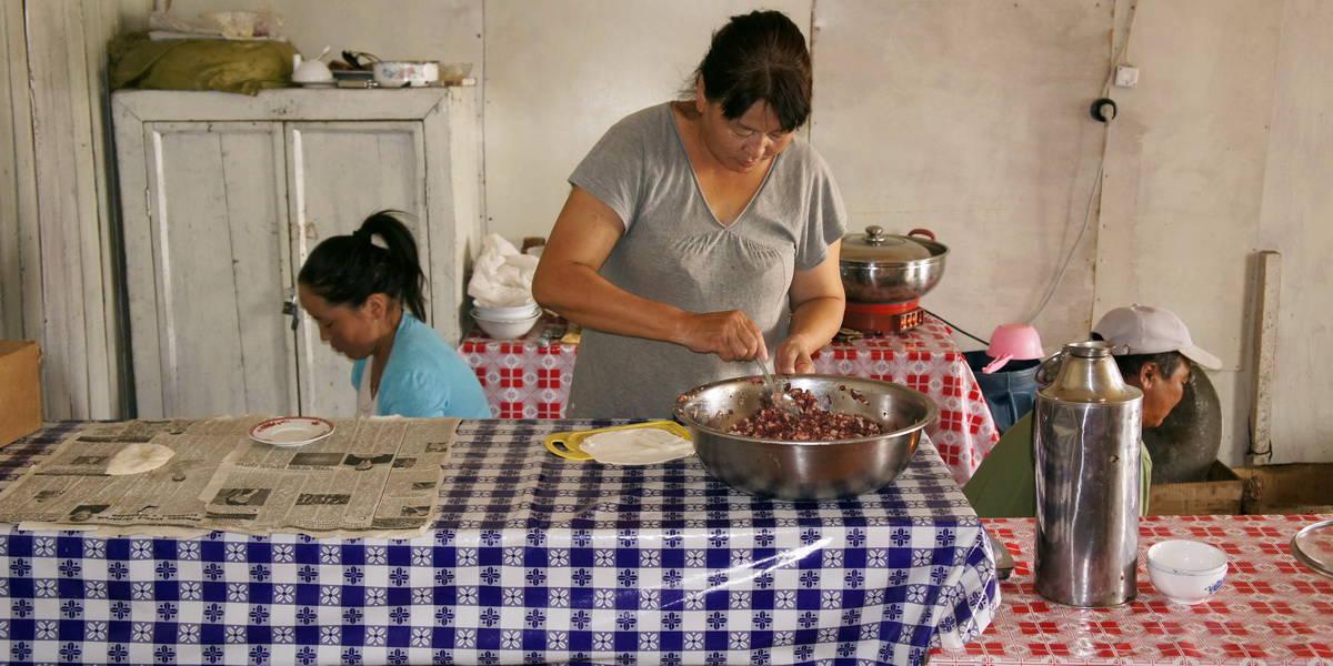 национальная кухня монголии