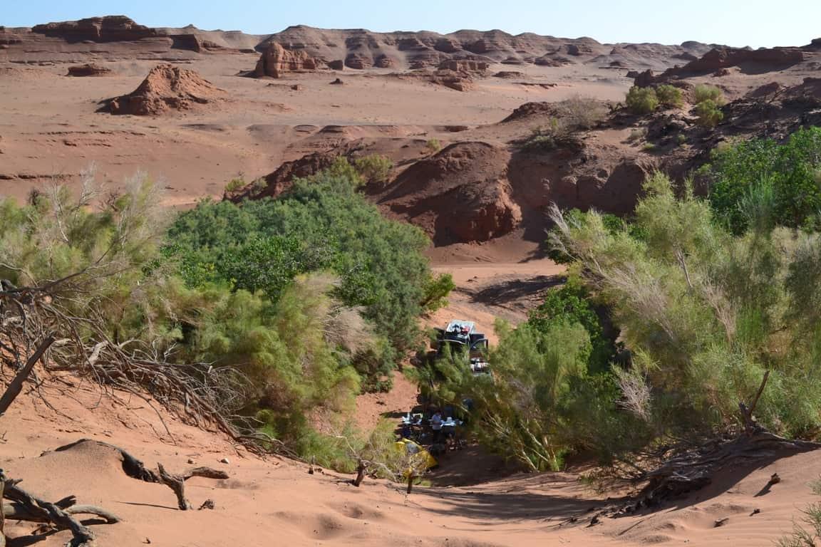 оазис в каньоне Хэрмэн-Цав