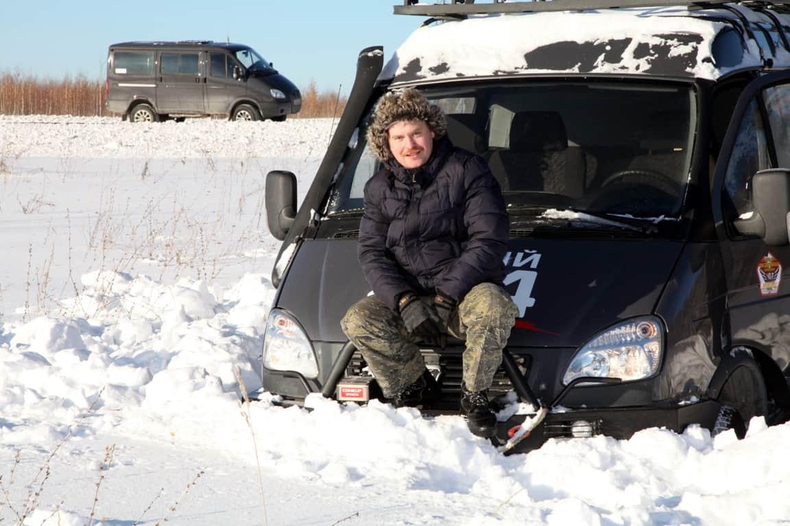 автопутешественник Алексей бычков тестирует Соболь 4х4