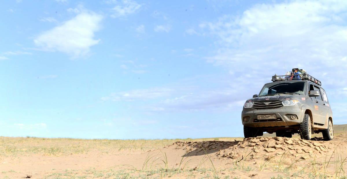 уазик в Монголии