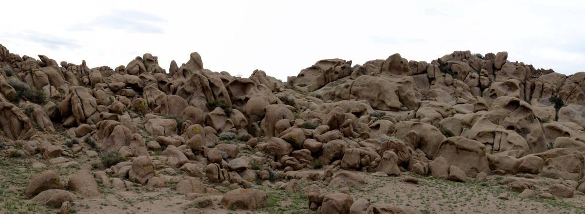 скалы из песчаника и выветривание