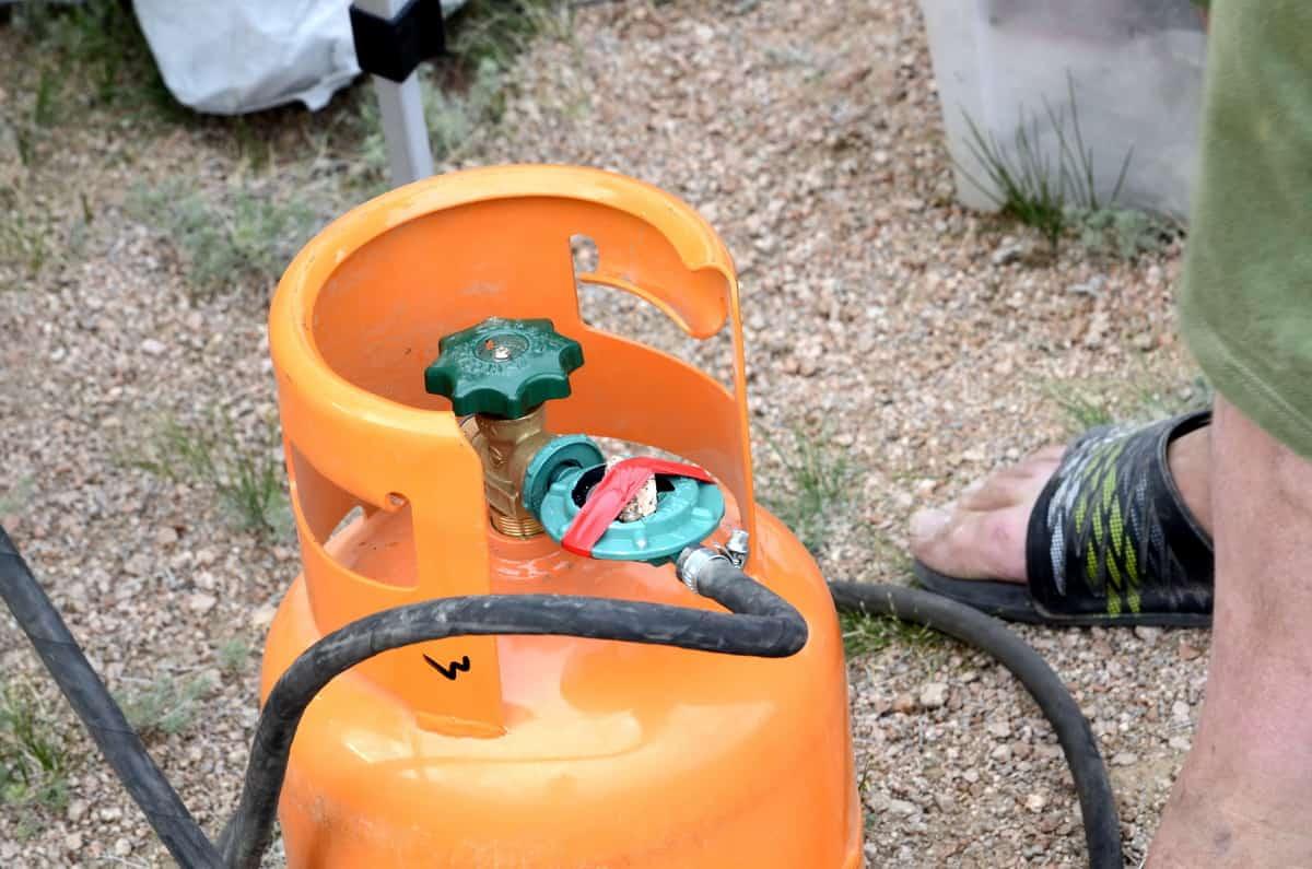 полевой ремонт газового редуктора