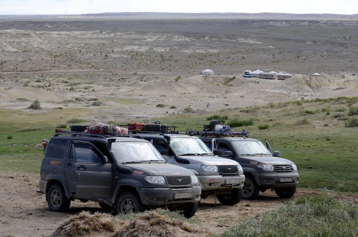 пейзаж пустыни Гоби