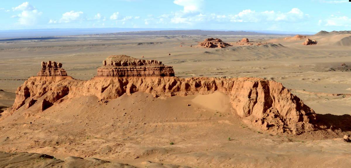 Монголия '17. # 5. Каньон Хэрмэн-Цав. Жарко. Ярко. Красиво.