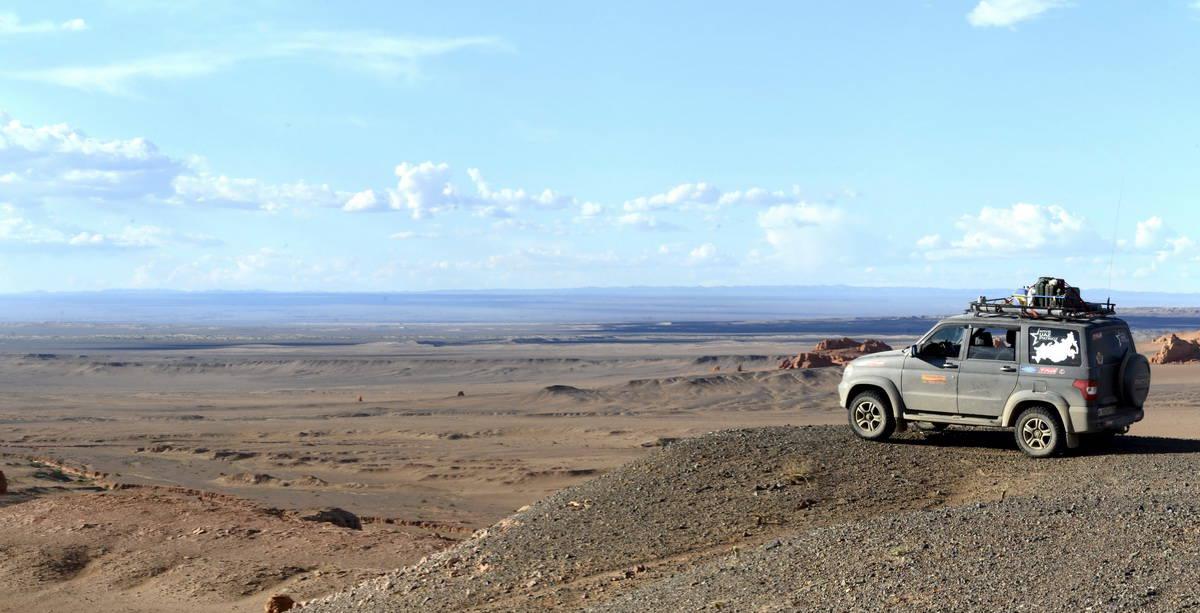 УАЗ Патриот в Монголии