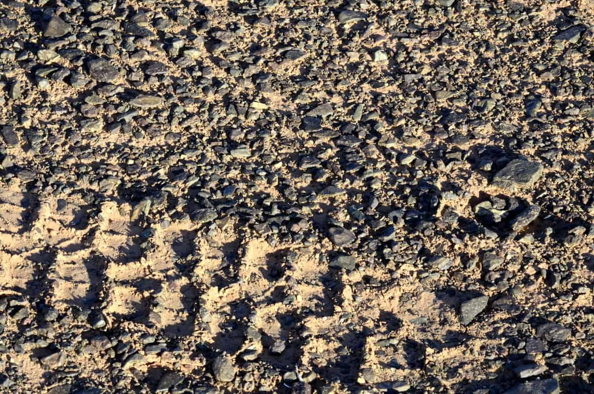 поверхность пустыни Гоби