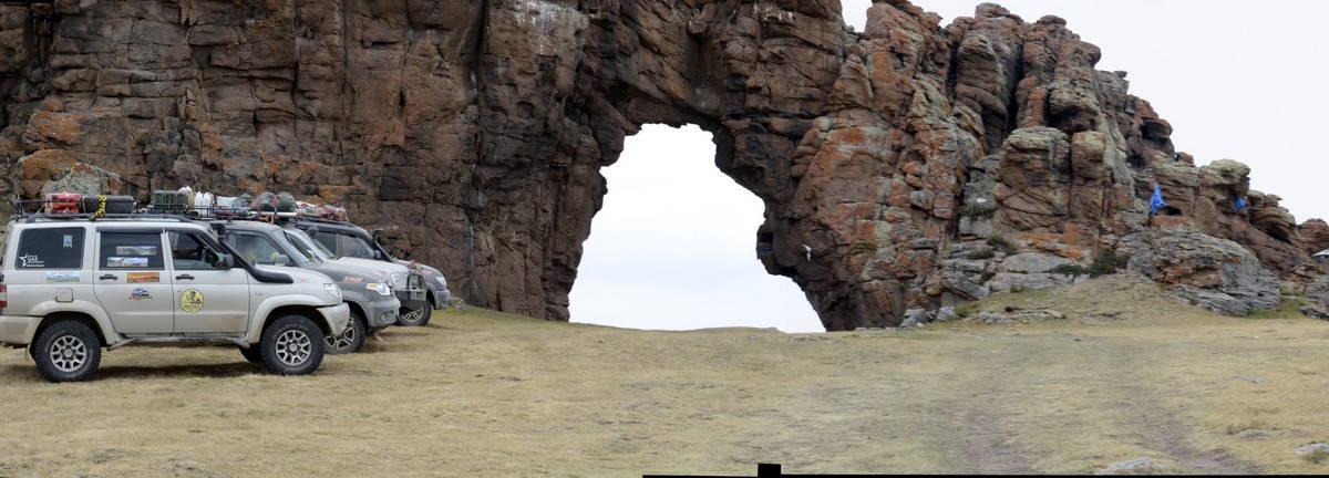 Клуб УАЗ Патриот в Монголии